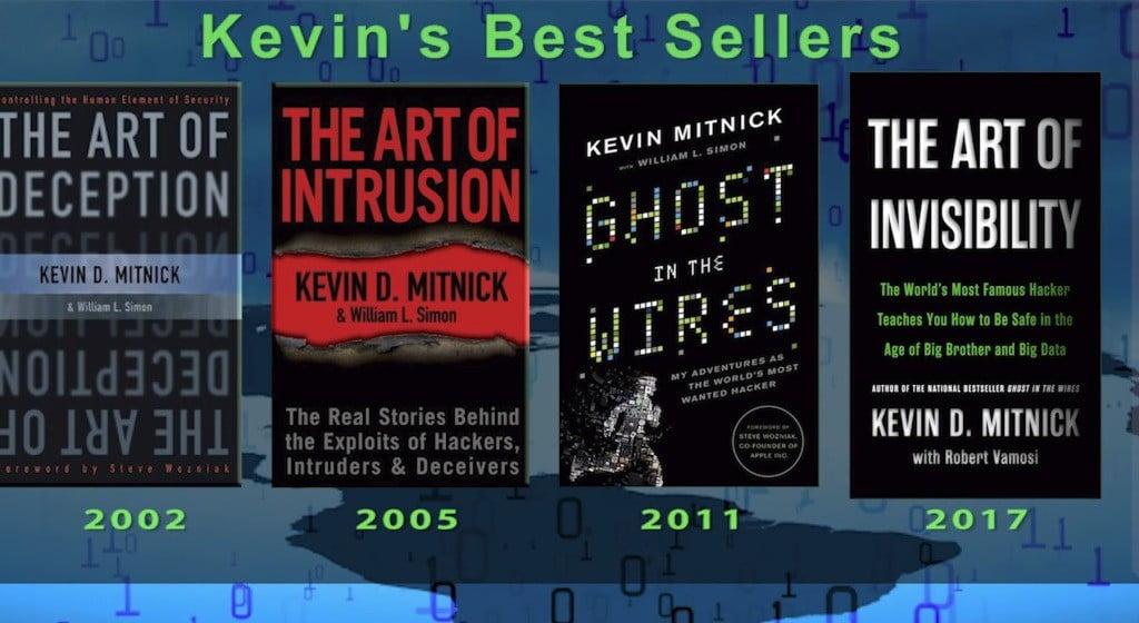 Kevin Mitnick Books
